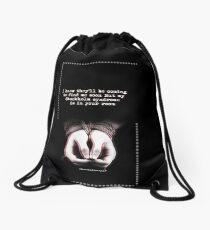 One Direction Lyrics Drawstring Bag