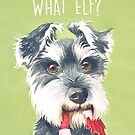 What Elf? by Sarah  Mac Illustration