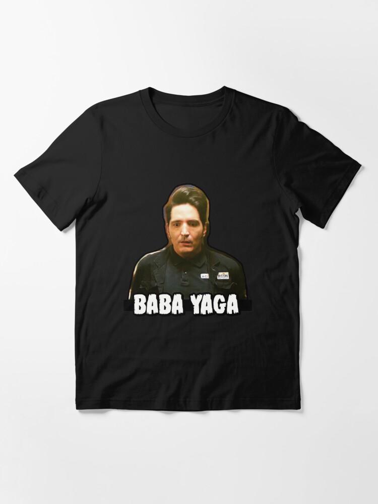 Alternate view of Baba Yaga - David Dastmalchian as Kurt Essential T-Shirt