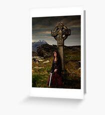Branwen  (Celtic Cross) Greeting Card
