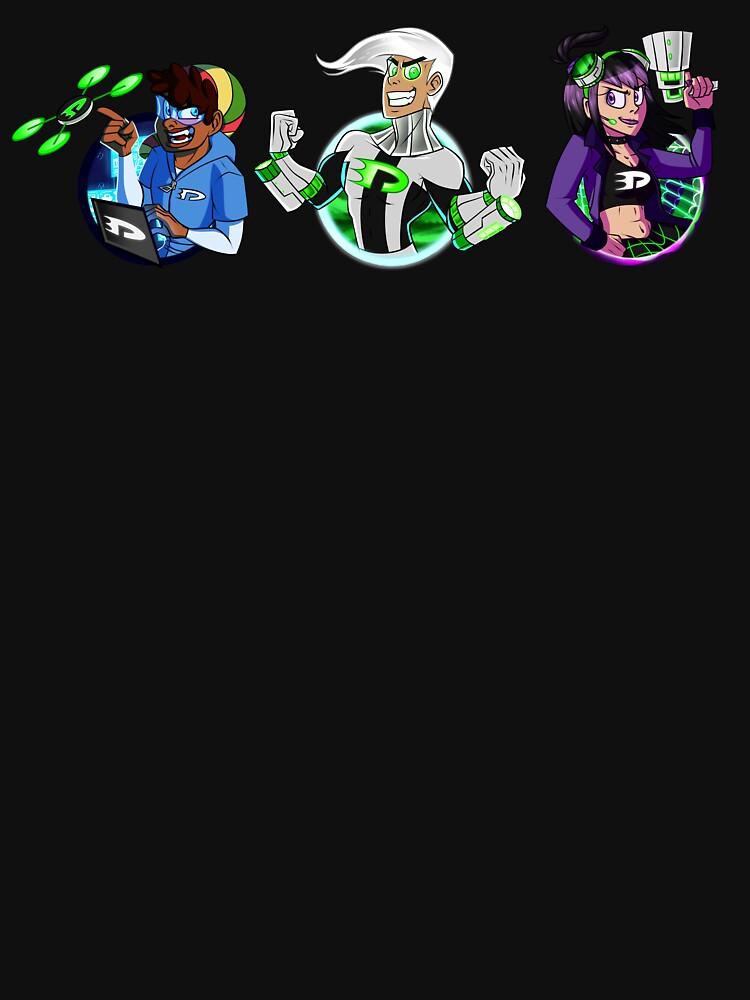 Danny Phantom 10 Years Later: Trio by StarShine-Robot