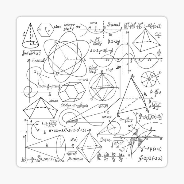Math Equations #Math #Equations #MathEquations Sticker