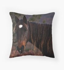 having a bad hair day Throw Pillow