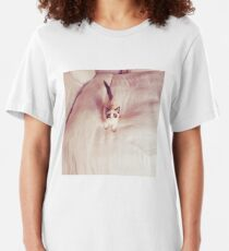 Benjamin Button Cat Slim Fit T-Shirt