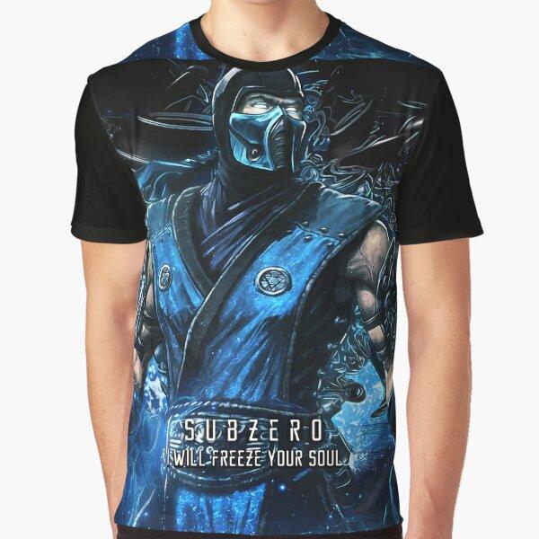 Mortal Kombat subzero Graphic T-Shirt
