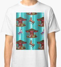 Carousel Horses  Classic T-Shirt