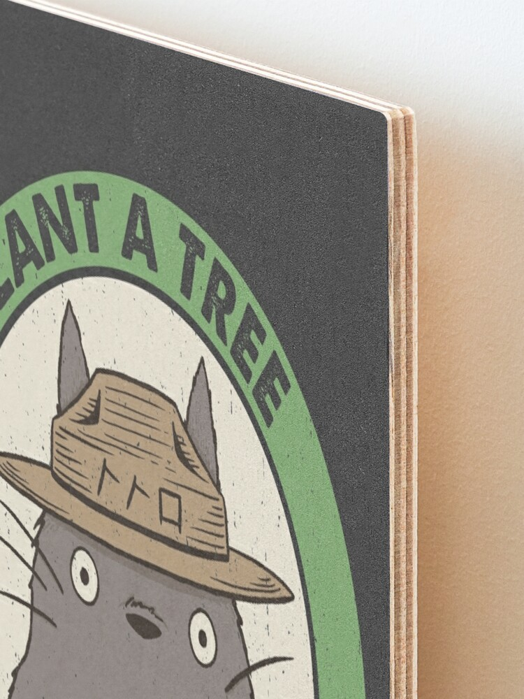 Alternate view of Save the Forest Mounted Print