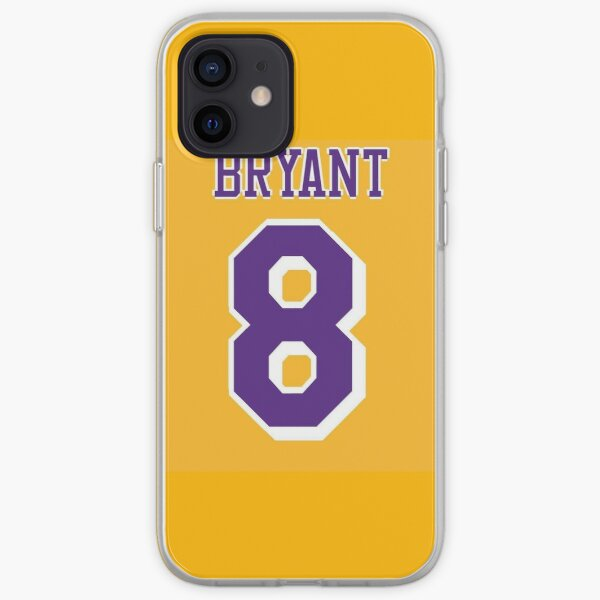 Kobe Bryant 8 iPhone Soft Case