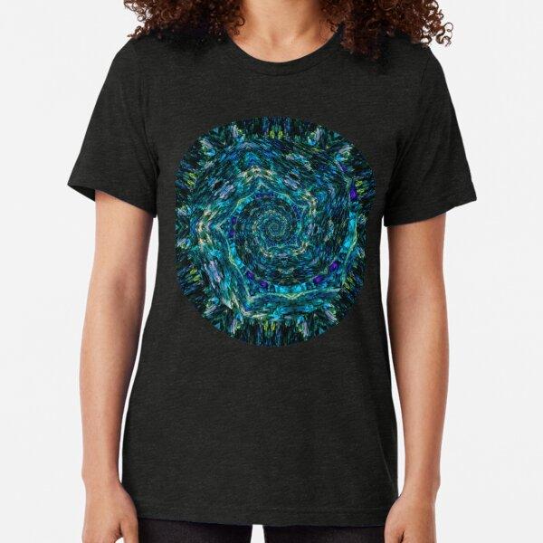 Atlantis Spiral Tri-blend T-Shirt
