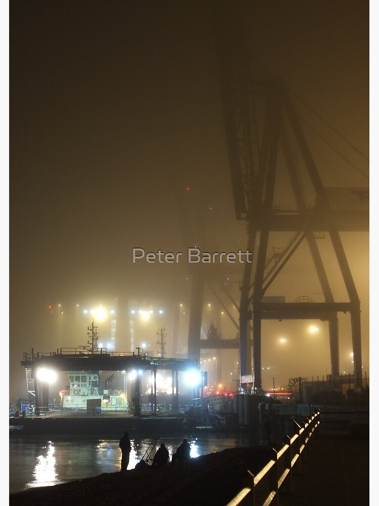 Felixstowe Docks at Night by hartrockets