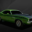 1970 Plymouth Cuda by TeeMack