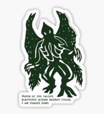 Nightmare Poetry Sticker
