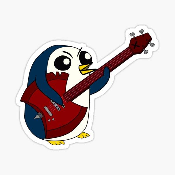 gunter ax bass jam session Sticker