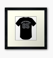 Trevor May Players' Weekend Jersey Framed Print
