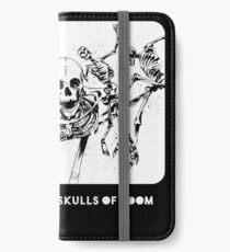 Beware The Five Dancing Skulls Of Doom! iPhone Wallet/Case/Skin