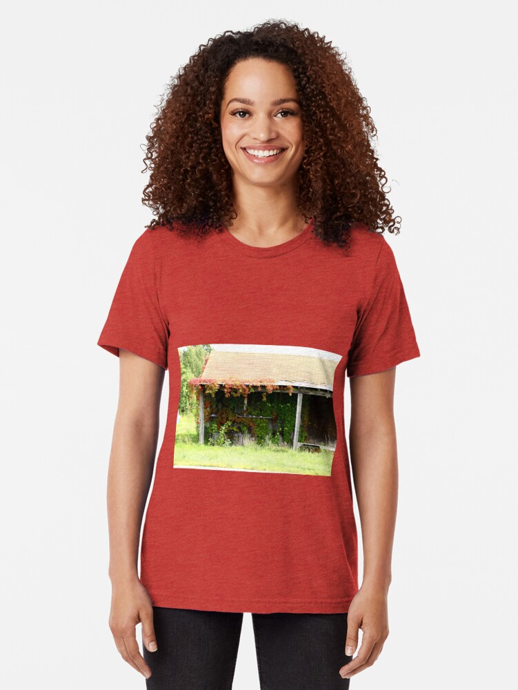 Alternate view of Closed for the Summer Tri-blend T-Shirt