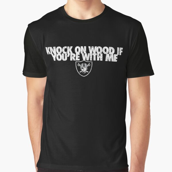 Knock On Wood If You're With Me Graphic T-Shirt