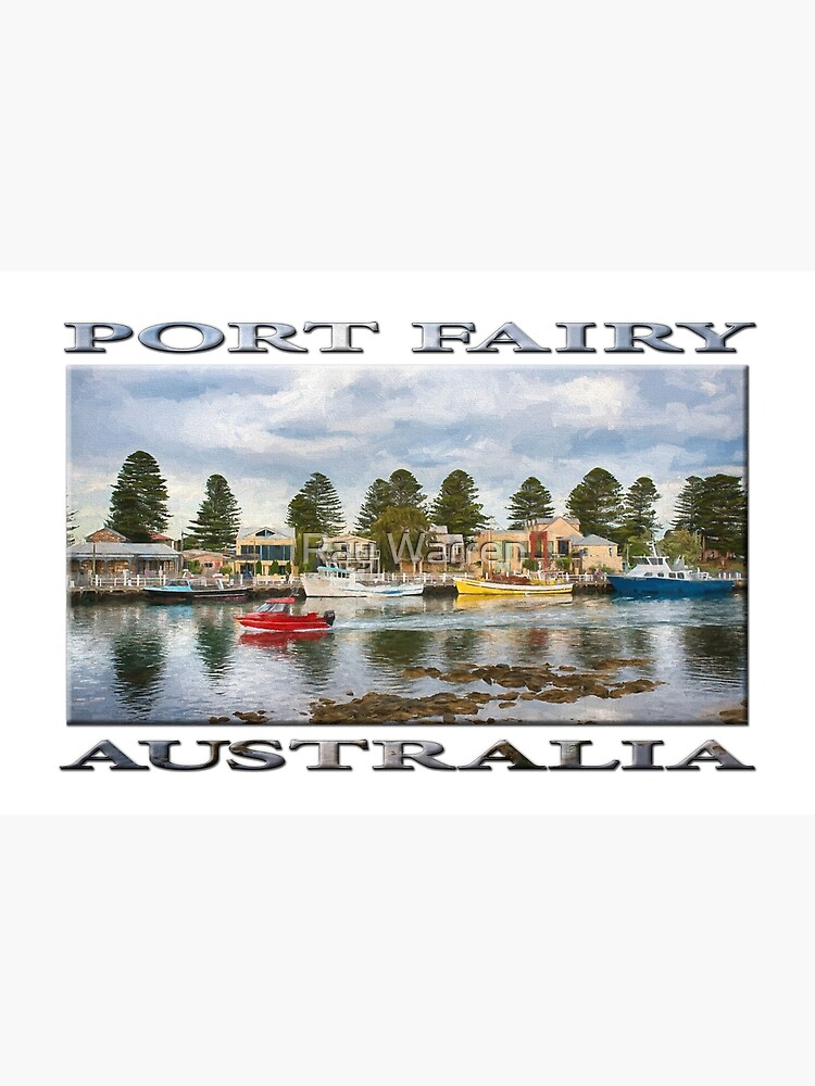Port Fairy Rush Hour  (digital painting - poster edition) by RayW