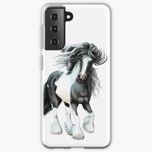 Prince, Gypsy Vanner Horse Samsung Galaxy Soft Case
