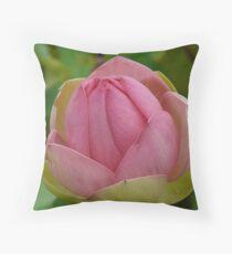 Lotus in Bloom - Adelaide Botancial Gardens Throw Pillow