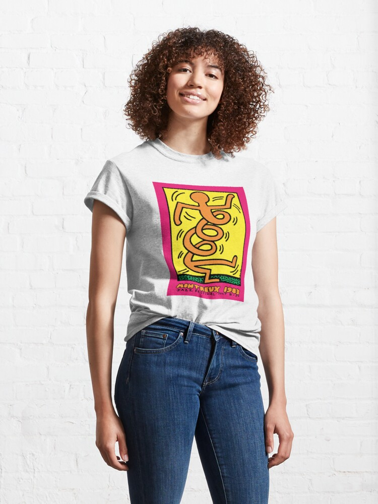 Alternate view of Montreux Jazz Festival 1983 Classic T-Shirt