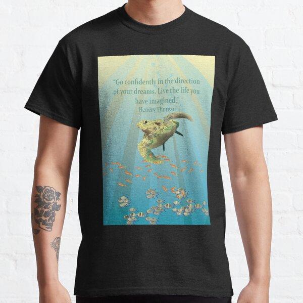 Sea Turtle Inspirational Sea Life Classic T-Shirt