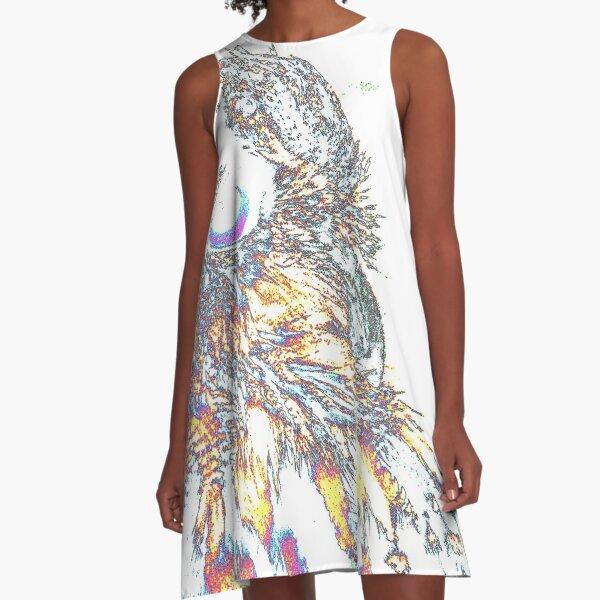 Le Owl A-Line Dress