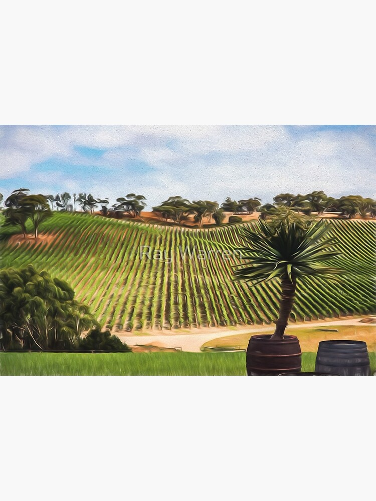 Southern Vineyard (digital painting) by RayW