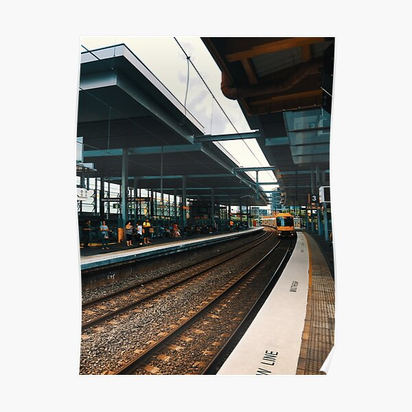 Train Station At Parramatta Poster