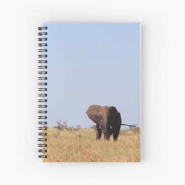 Lone Bull Spiral Notebook
