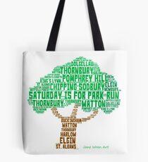 Saturday is for Park Run  Tote Bag
