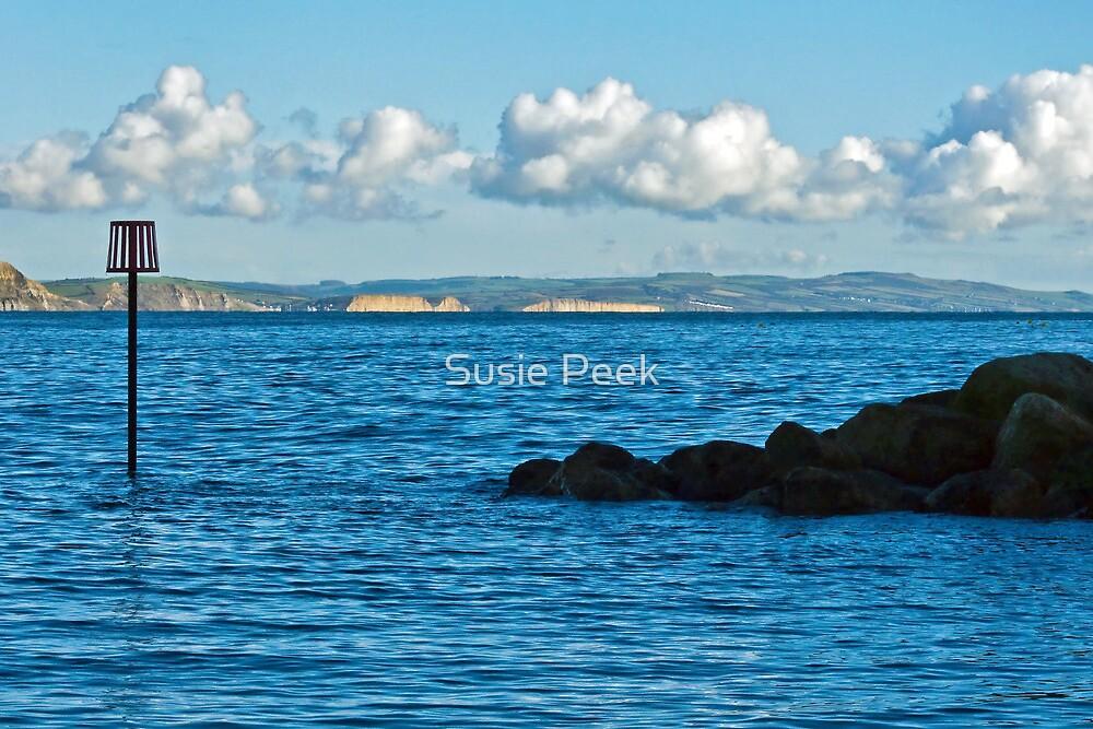 Winter Blues ~ Lyme Regis by Susie Peek