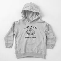 Fleabag Shirt| I Got Chatty At Hilary's Cafe Toddler Pullover Hoodie