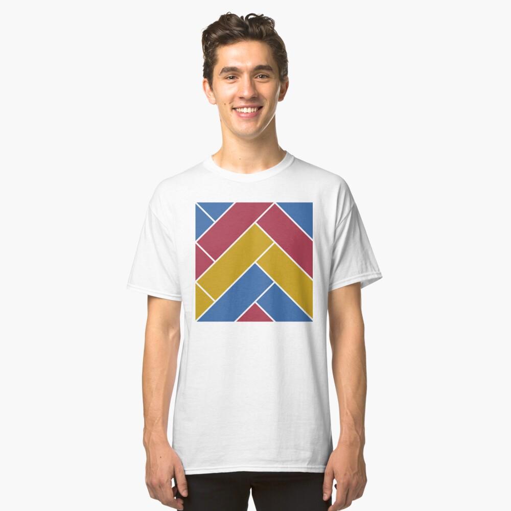 Geometric Pattern: Herringbone: Summer Classic T-Shirt