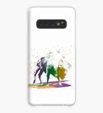 Bison in a colour storm Case/Skin for Samsung Galaxy