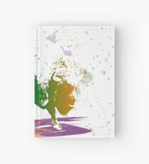 Bison in a colour storm Hardcover Journal