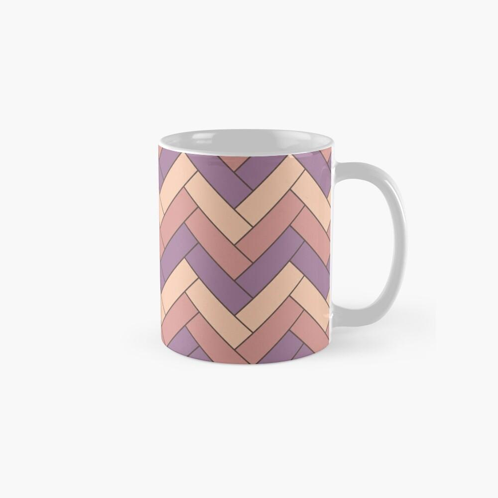 Geometric Pattern: Herringbone: Autumn Mug