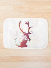 Hello Deer Bath Mat