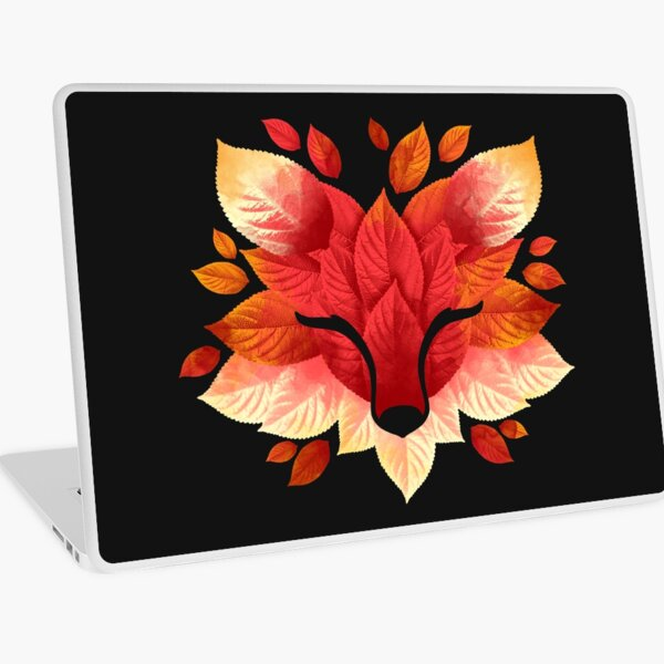 Fox of leaves Laptop Skin
