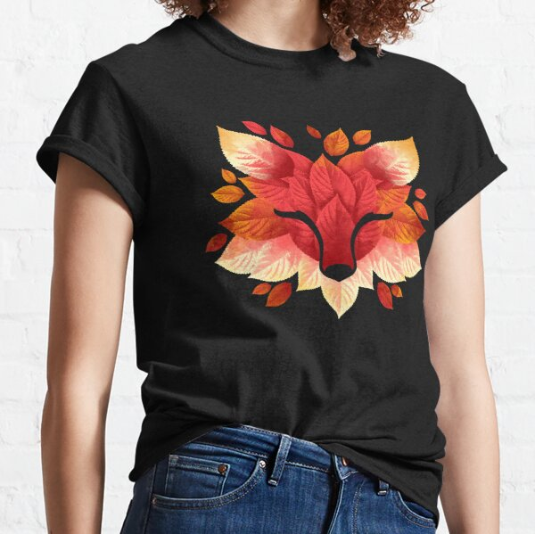 Fox of leaves Classic T-Shirt