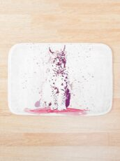 The Lynx – A Face of Wisdom Bath Mat