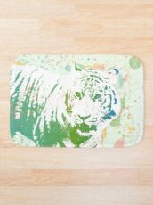 Am I that Tigers Lunch? Bath Mat