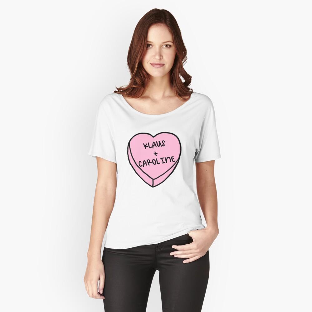 Klaroline Relaxed Fit T-Shirt