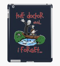 Calvin and Hobbes Doctor iPad Case/Skin
