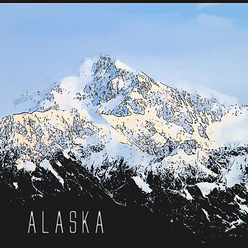 Mount McKinley ALASKA by EDROMAXIMUS