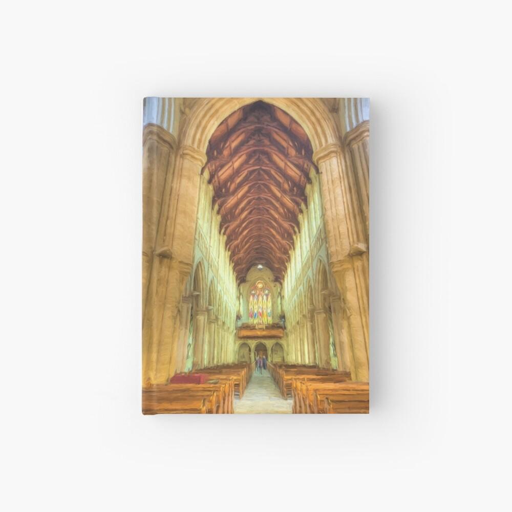 Sacred Heart (digital painting) Hardcover Journal
