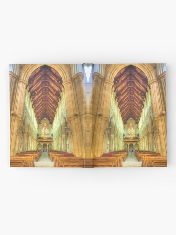 Alternate view of Sacred Heart (digital painting) Hardcover Journal
