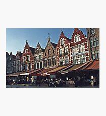 Town Square - Brugges, Belgium #2 Photographic Print