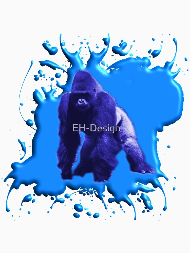 Blue Gorilla 3D von EH-Design