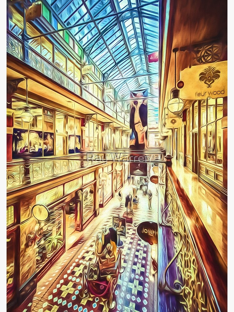 Antique Arcade (digital painting) by RayW